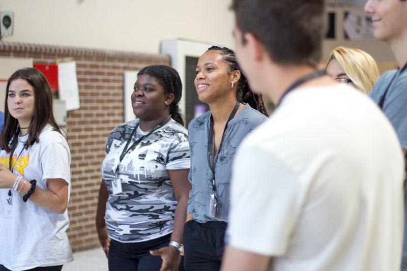 Students at UCF Summer Workshop