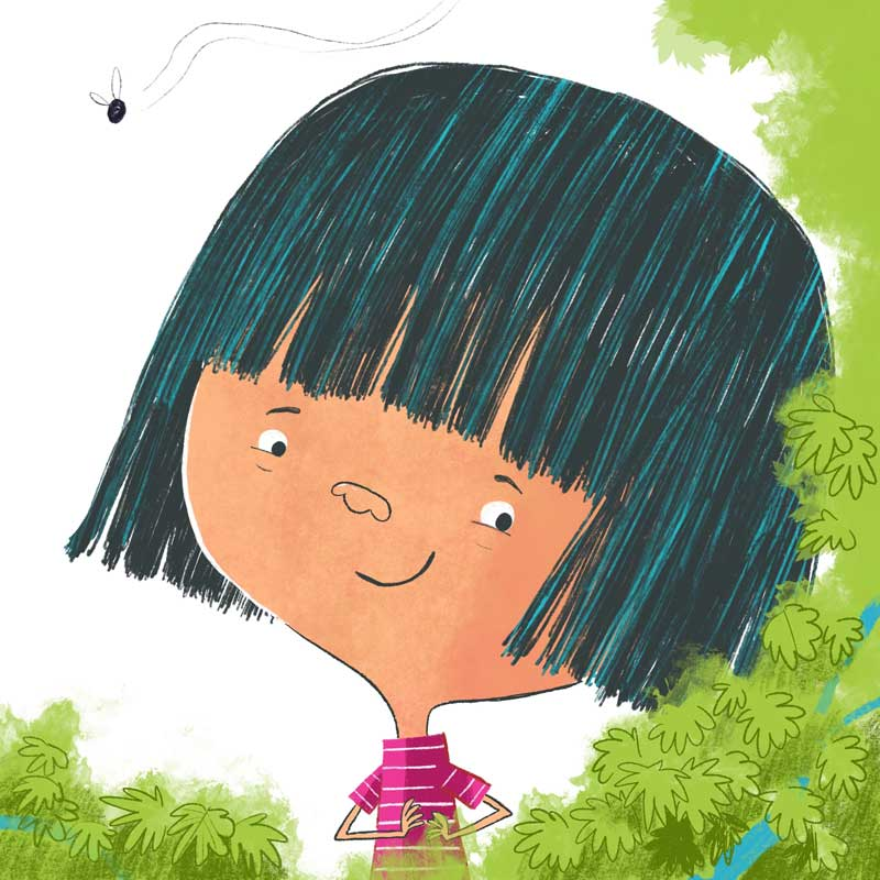 Happy, a character in the new book